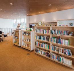 図書館専門メーカーとしての経験が光る本棚【図書館設備】